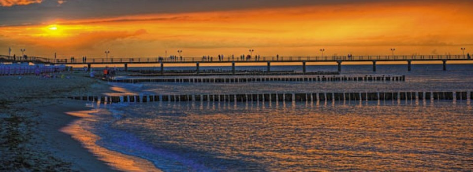 Sonnenuntergang über Kühlungsborn