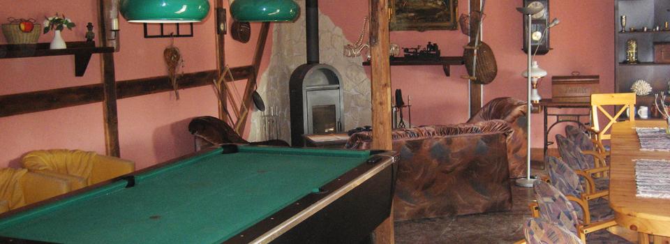 Partyraum auf dem Ferienhof Langguth
